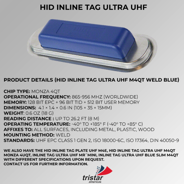 HID INLINE Tristar Americas RFID, NFC, Beacons