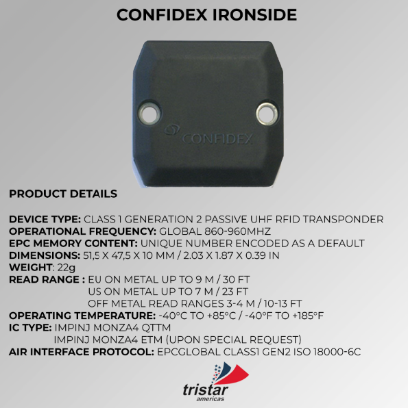 Specifica RFID Ironside