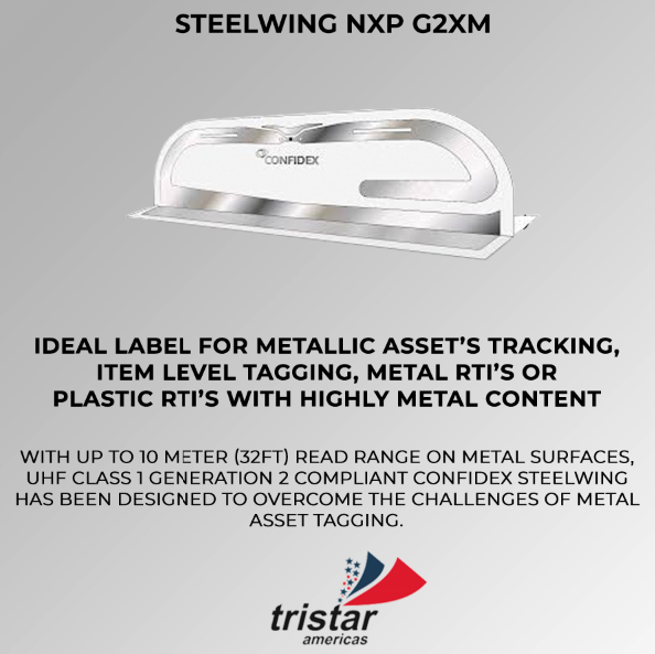 steelwing tag Tristar Americas RFID, NFC, Beacons